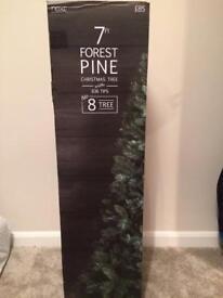 Next 7ft Christmas tree