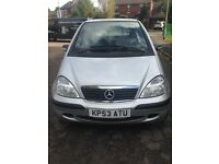Bargain Mercedes A140 2003 Classic SE Automatic For Sale