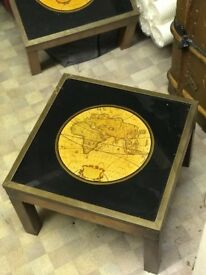 2 World Map End / Coffee Tables