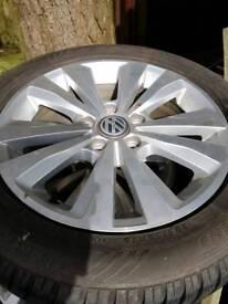 4 std mk 7 alloys with good winter tyres