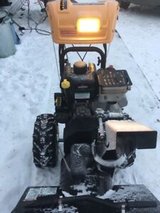 2012 craftsman snowblower