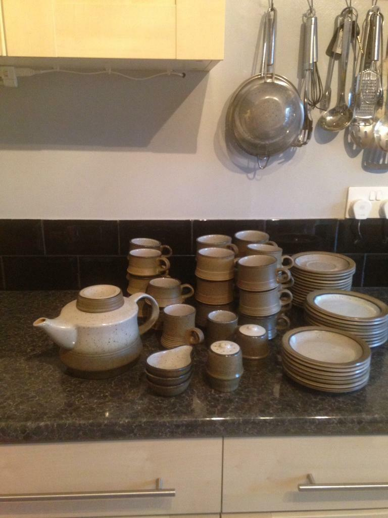 Purbeck pottery set