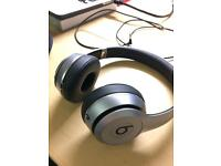 BEATS Solo 2 Wireless Bluetooth Headphones - Space Grey