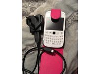 BlackBerry with charger&Case