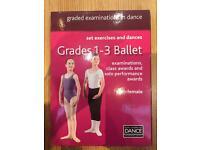 Royal Academy of Dance Grade 1-3 practice DVD