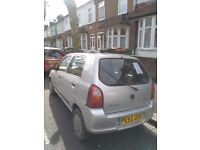 2005 Suzuki Alto 5 doors only for 650 pounds at eastham.