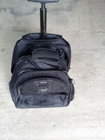 Targus Rolling Backpack and Backpack Combined, nearly new only used once