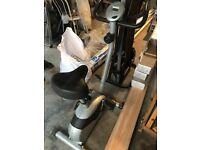 Used exercise equipment bike running machine