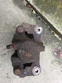 Toyota Landcruiser rear brake caliper