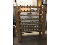 70 bottle wine rack