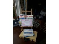 Easel and Watercolours