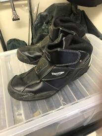 Triumph riding boots
