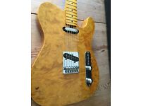 1980s Tokai Breezysound Telecaster Rare Figured Bound Body