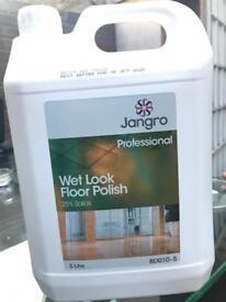 Wet Look Floor Polish 25% Solids (5 Litre)