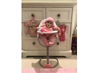 Baby Annabel doll & accessories for sale  Putney, London