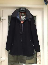 Like new Superdry original trench coat size Large £50