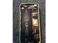 iPhone 5c no screen