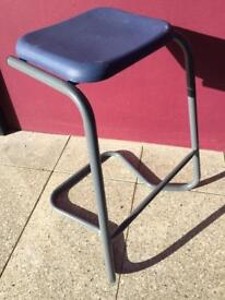 Unused stacking high stool