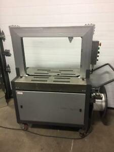 MERLIN Machine de Strapping automatique, cerclage, emballeuse, strappeuse / Strapping machine