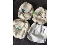 Brand New Re-Useable Nappies, 0-6 months