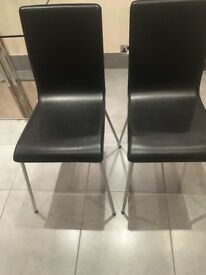 Leather Casual/Dining Chairs