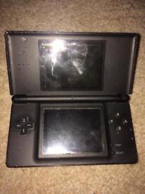 Black Nintendo Ds Lite console