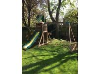 Large wooden playset