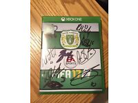Fifa 17 Xbox One signed by the Yeovil Town 1st XI squad
