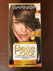 Garnier hair dye belle colour