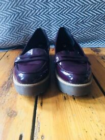 Size 8 River Island Loafers