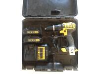 Dewalt DCD785 18v hammer action drill