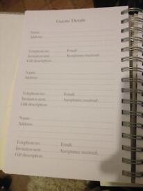 Wedding planner/organiser