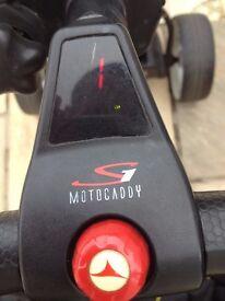 Motocaddy S1 Digital trolley and Bag.