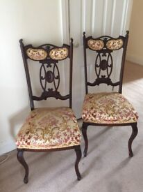 Reproduction Chairs x 2