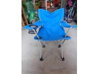 Kids Blue Camping Chair