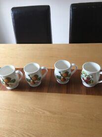 Portmeirion pomona mugs