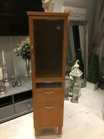 Bathroom/utility room tall unit