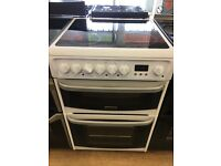 CANNON 60CM BRAND NEW CEROMIC TOP ELECTRIC COOKER IN WHITE