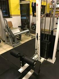 Life fitness lat pull down and lat row machine