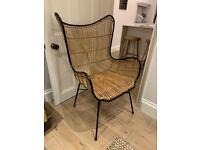 Wicker Armchair - Liberty London / Rockett St George