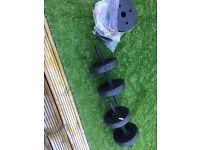 25Kg Pro Fitness Dumbbell Set