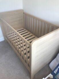Mamas & Papas Oak Finish Nursery Furniture