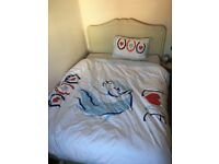 Shaker Style a wooden Double Bed & Organic Mattress
