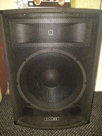 Onkyo and 2 big speakers Pulse 300w each