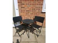 Brand new rattan table and chairs