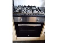 Hob and electric oven. Available 27th February