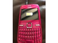 Nokia C3.00 pink telephone