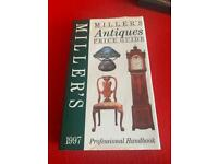 MILLERS ANTIQUES PRICE GUIDE 1997