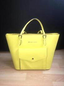 Yellow Michael Kors Handbag