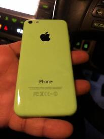 IPhone 5c green Unlocked Can Deliver